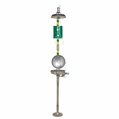 Haws, AXION� MSR Combination Corrosion Resistant Shower and Eye/Face Wash