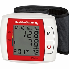 Health Smart Automatic Portable/Wrist Blood Pressure Kit, 103WA