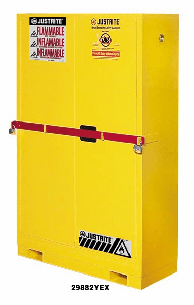 High Security Safety Cabinet Self-Close
