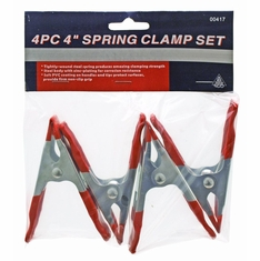 Hiltex 00417 4 Inch / 4 Piece  Spring Clamp Set