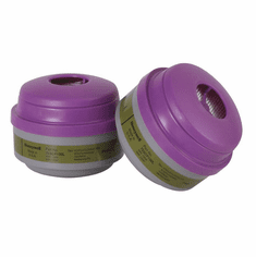 Honeywell 75SCP100L North Organic Vapor, Ammonia, Methylamine, Formaldehyde And Acid Gas Cartridge For 5400, 5500, 7400 And 7500