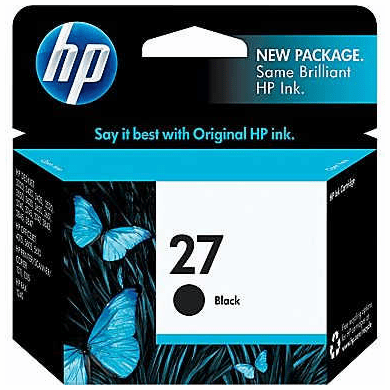 HP C8727AN Black ink Cartridge 27