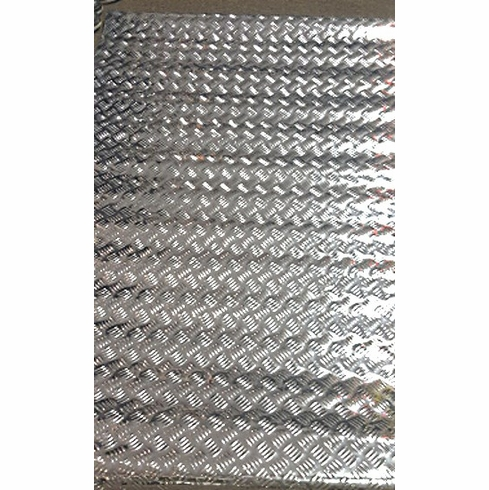 IIT 17355 4' X 8' Diamond Plate Garage Floor Standing Mat