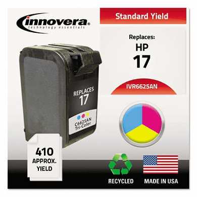 Innovera® C6625AN HP17 Tri Color Ink