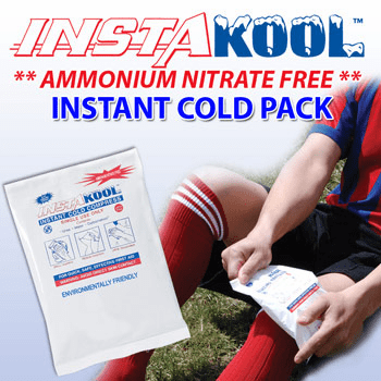"""InstaKool� Small Cold Pack, Unit Size  5"""" X 6"""""""