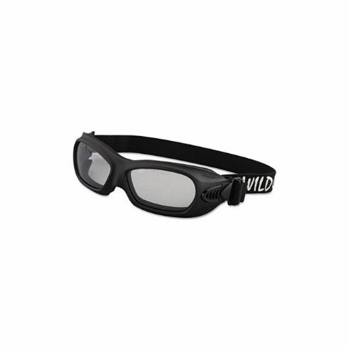 Jackson, 20525 Wildcat, Safety Goggles, Black Frame Clear Lens
