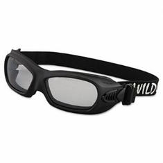 Jackson, 20525 V80 Wildcat, Safety Goggles, Black Frame Clear Lens