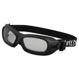 Jackson, 3013710 Wildcat, Safety Goggles, Black Frame Clear Lens