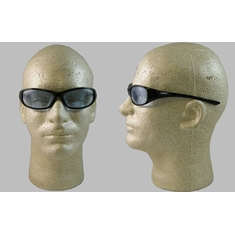Jackson, Hellraiser Safety Glasses, Light Blue Lens, Black Frame