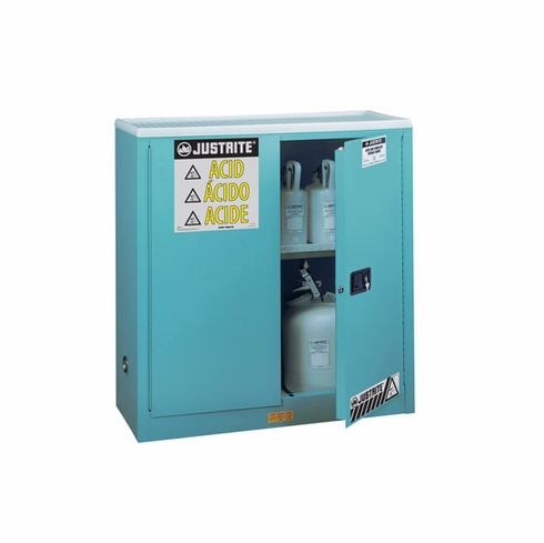 Justrite 893002 Sure-Grip® EX Corrosives/Acid Steel Safety Cabinet