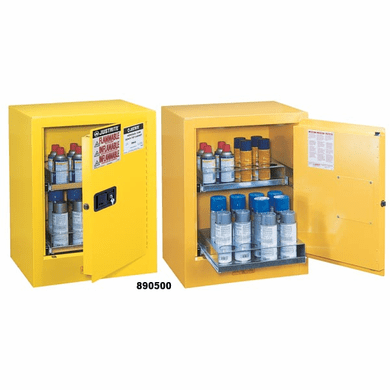 Justrite, 890500 Aerosol Can Benchtop Safety Cabinet