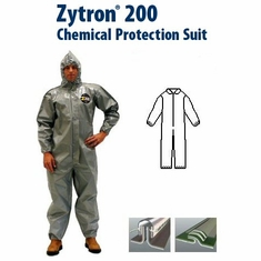 Kappler Zytron Z200 Coverall with Collar & Elastic Wrists and Ankles.
