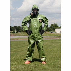 Kappler Zytron Z400 Coverall with Hood & Boots and Elastic Wrists.