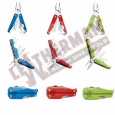 Leatherman Leap For Younger Users, 3.30� Closed , 12 Tools, Red Handles