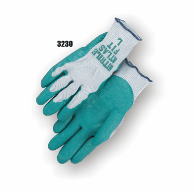 Majestic 3230 Atlas Seamless Knit Liner with Green Nitrile Palm Gloves
