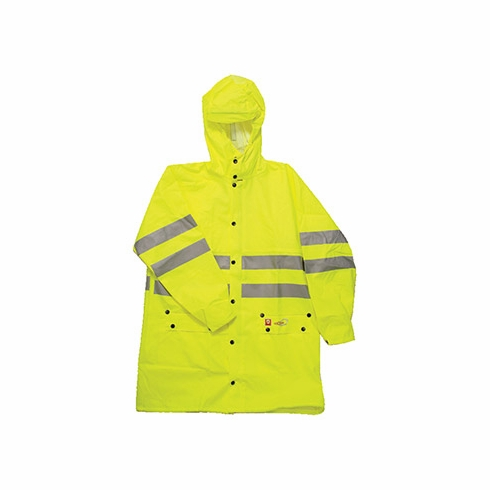 Majestic, Hi Vis Yellow Flame Retardant ANSI Class 3 Flexothane Jacket