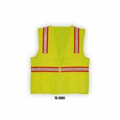 Majestic M-Safe 75-3001/X1 High Visibility Surveyors Vest - Yellow
