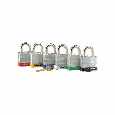 Master Lock Laminated Steel Safety Padlock Assortment