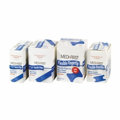 Medique 01-7700 High Visibility Blue and Metal Detectable Bandages