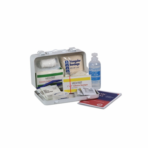 "Medique, Small Vehicle First Aid Kit, 821M1, 7 3/4"" X 4 3/4"" X 2 3/4"""