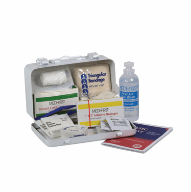"""Medique, Small Vehicle First Aid Kit, 821M1, 7 3/4"""" X 4 3/4"""" X 2 3/4"""""""