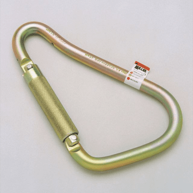 Miller, Large, Steel Twist-Lock Carabiner