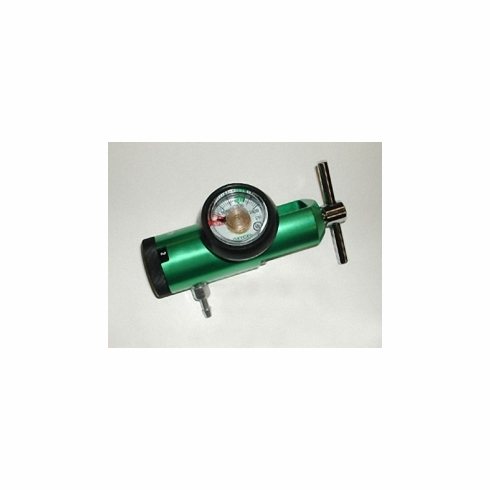 Mini O2 Click Style Regulator M Series (1/2-15 LPM) CGA-870 yoke with barb