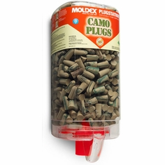 Moldex 6648 Camo, UF Foam Ear Plugs, Plug Station Dispenser