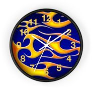 "MV Collection 67 ""Classic Flames"" Clock"