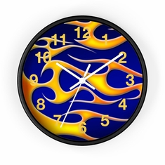 """MV Collection 67 """"Classic Flames"""" Clock"""