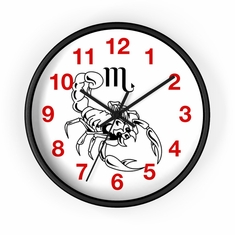 "MV Collection ""Scorpio"" Wall Clock"