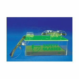 NMC ADTC Acrylic PPE Dispenser, Compact, With Cover