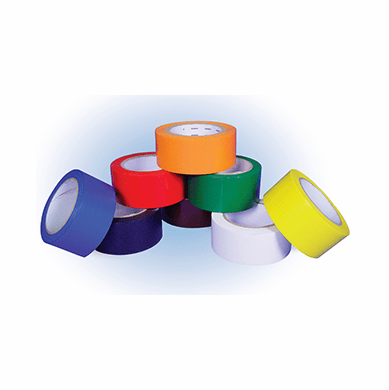 NMC, T204 Solid Color Safety Tapes, T204, Red