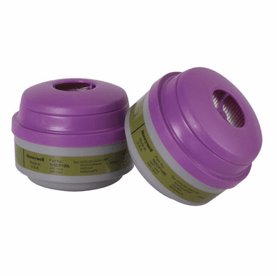 North By Honeywell NOS-75SCP100L  Organic Vapor, And Acid Gas Cartridge For 5400, 5500, 7400 And 7500