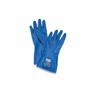 North® Nitri-Knit™ NK803IN/10 Insulated Blue Rough Finish Nitrile Gloves 12/Pr