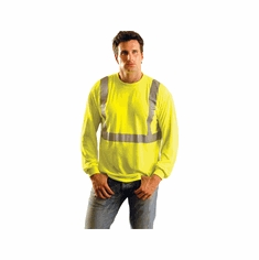 Occunomix LUX-LST2 Premium Long-Sleeve Wicking Reflective ANSI Class 2