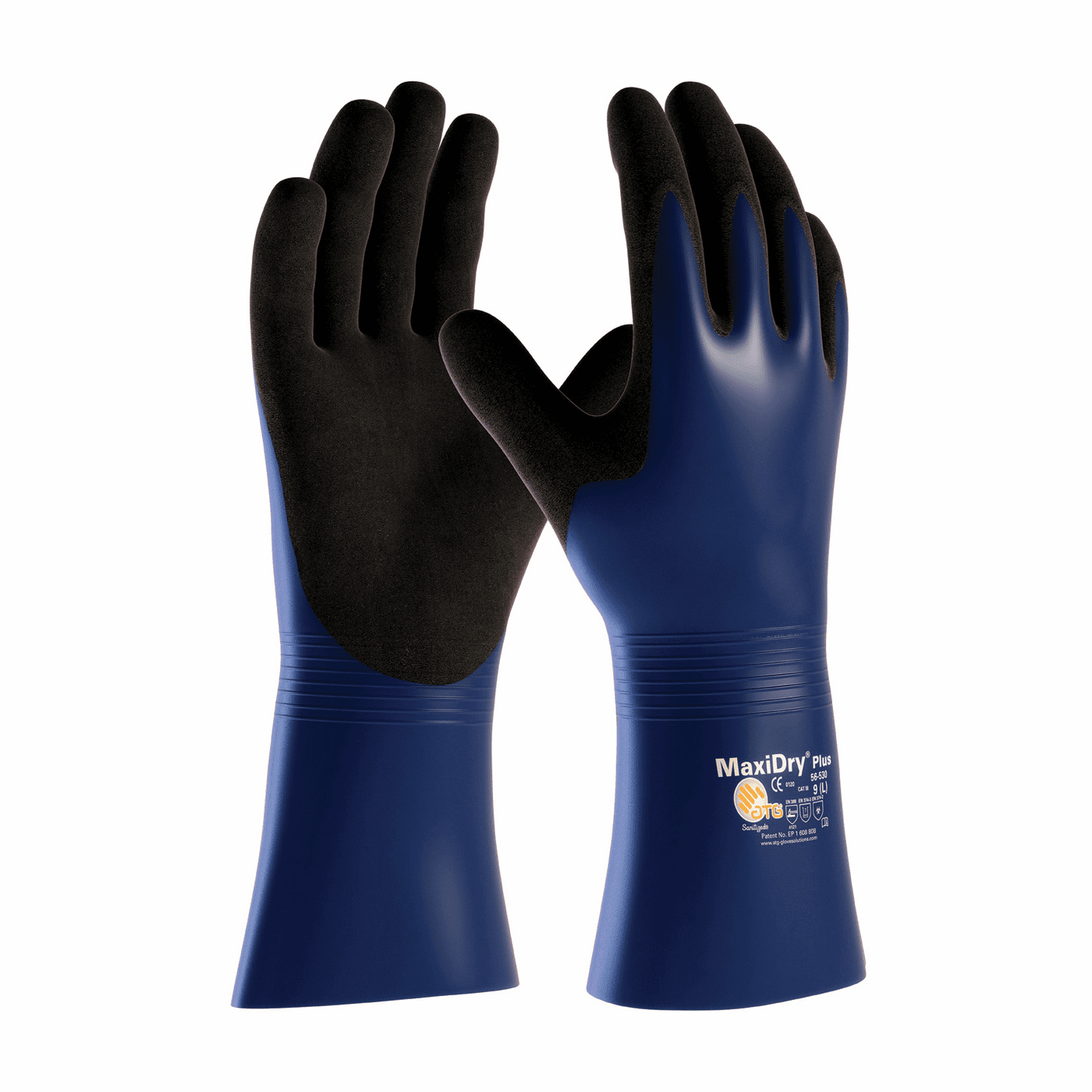 PIP, MaxiDry� Plus� Nitrile Coated Glove with Nylon / Lycra Liner and Non-Slip Grip on Palm & Fingers