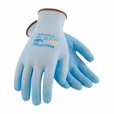 PIP, MaxiFlex® Active Seamless Knit Nylon / Lycra Glove with Ultra Lightweight Nitrile Coated Micro-Foam Grip on Palm & Fingers