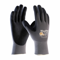 PIP, MaxiFlex� 34-874 Ultimate� Seamless Knit Nylon / Lycra Glove with Nitrile Coated Micro-Foam Grip on Palm & Fingers