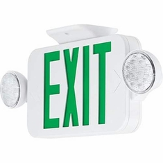 Progress Lighting PECUE-UG-30 Exit Signs Wall-Mounted Light White