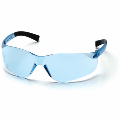 Pyramex, Mini Ztek, safety Glasses, Infinity Blue Lens S2560SN
