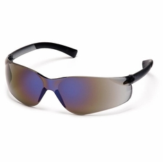 Pyramex, S2575S Ztek, Safety Glasses, Blue Mirror Lens