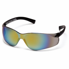 Pyramex S2590S Ztek, Gold Mirror Lens Safety Glasses / Eyeware