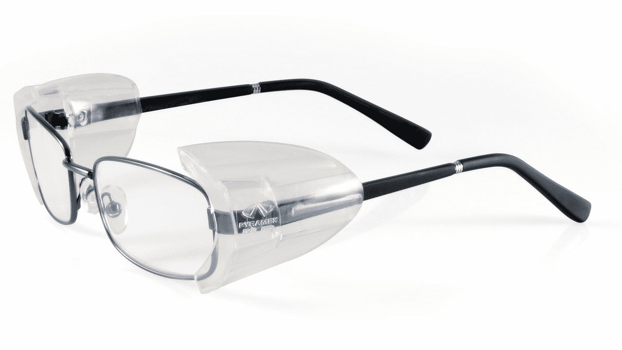 Pyramex SS100 Prescription Glasses Slip On Side Shield