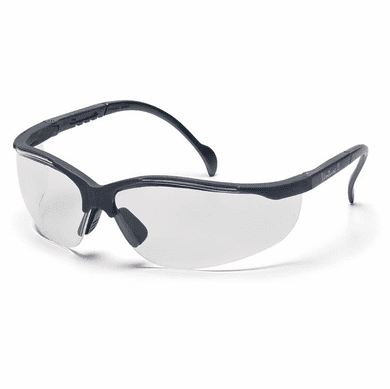 Pyramex, Venture II, Safety Glasses, Slate Gray Frame, Clear Lens