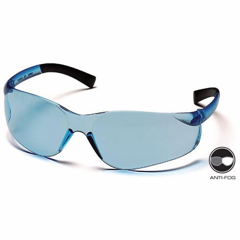 Pyramex, Ztek,  S2560S  Infinity Blue Lens / Frame Safety Glasses