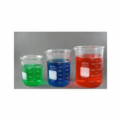 PYREX® Griffin beakers, Low form, capacity 250 mL, 4368