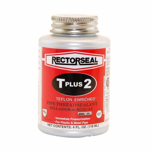 RectorSeal® 23633 T Plus 2® Thread Seal Quarter Pint With Brush Top