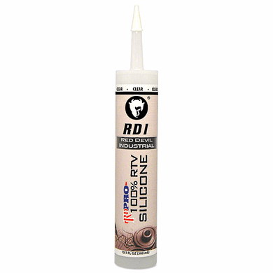 Red Devil 0826/OI 10.3FL OZ Clear Silicone Sealant
