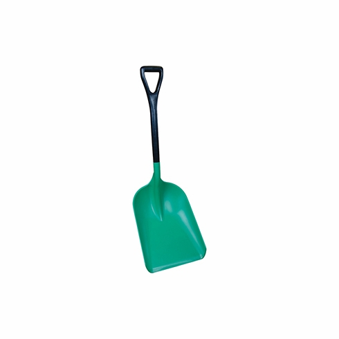 Remco, Shovel 14 x 18 x 40.5 Large blade, standard D-Grip, two-piece safety shovel. Anti-static agent in blade